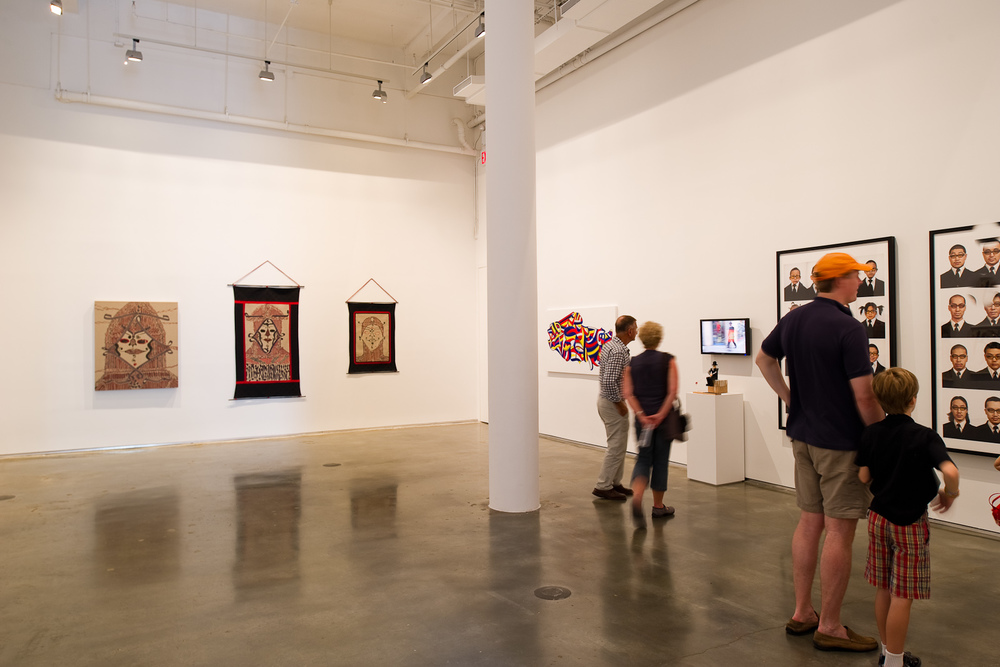 Installation view,  The New Grand Tour ,  Bryce Wolkowitz Gallery , New York, 2010