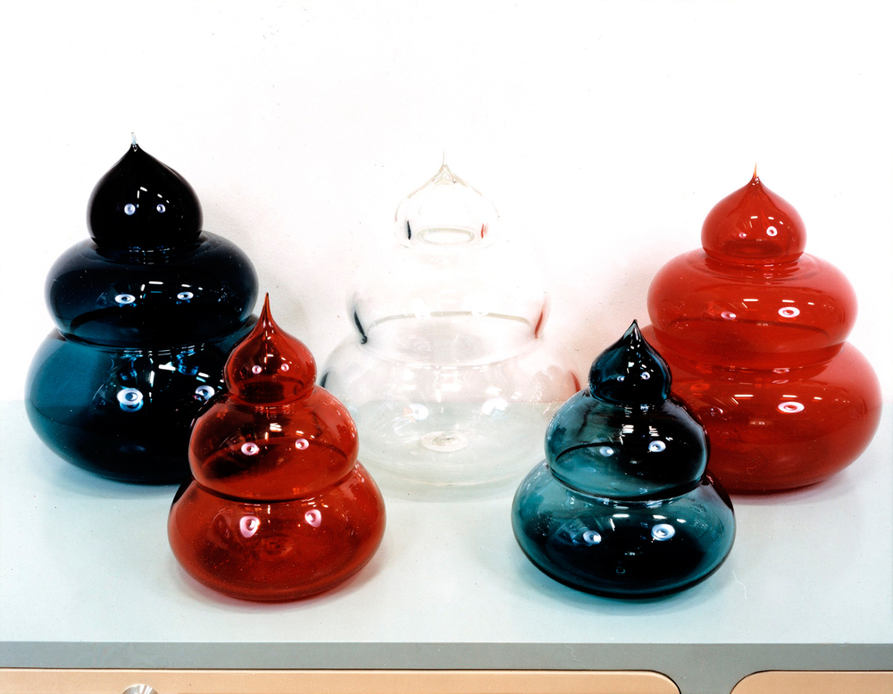 The Seed I-V (Patriot series), 2002 hand blown glass edition of 6  dimension vary