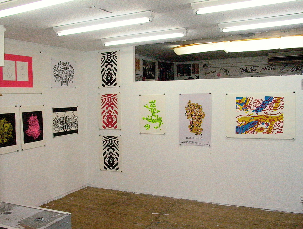 Installation view,  Inconxistence  Dyezue Gallery Nakameguro, 2003