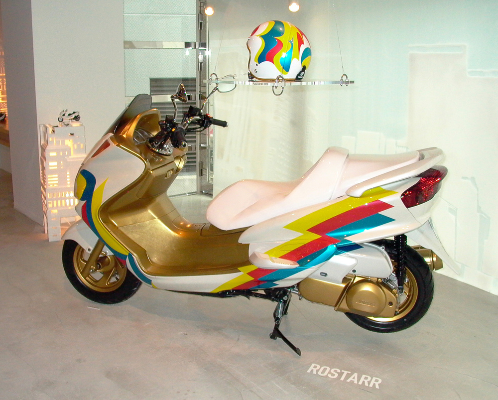 Bosozoku Superstar, 2003 special collaboration with Yamaha dimensions vary