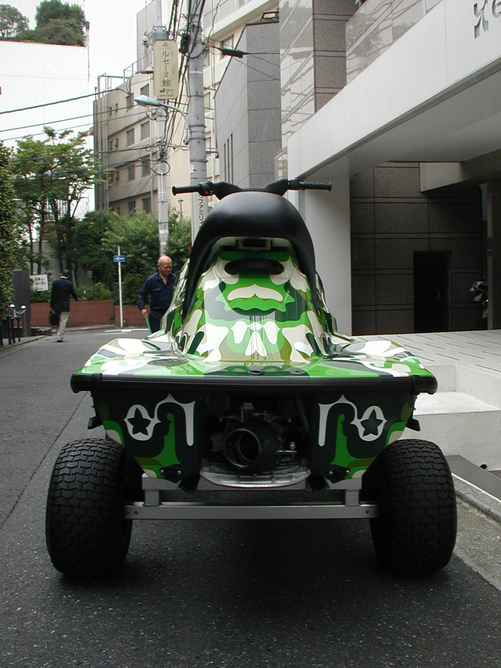 Untitled, 2003 special jetski collaboration with Yamaha dimensions vary