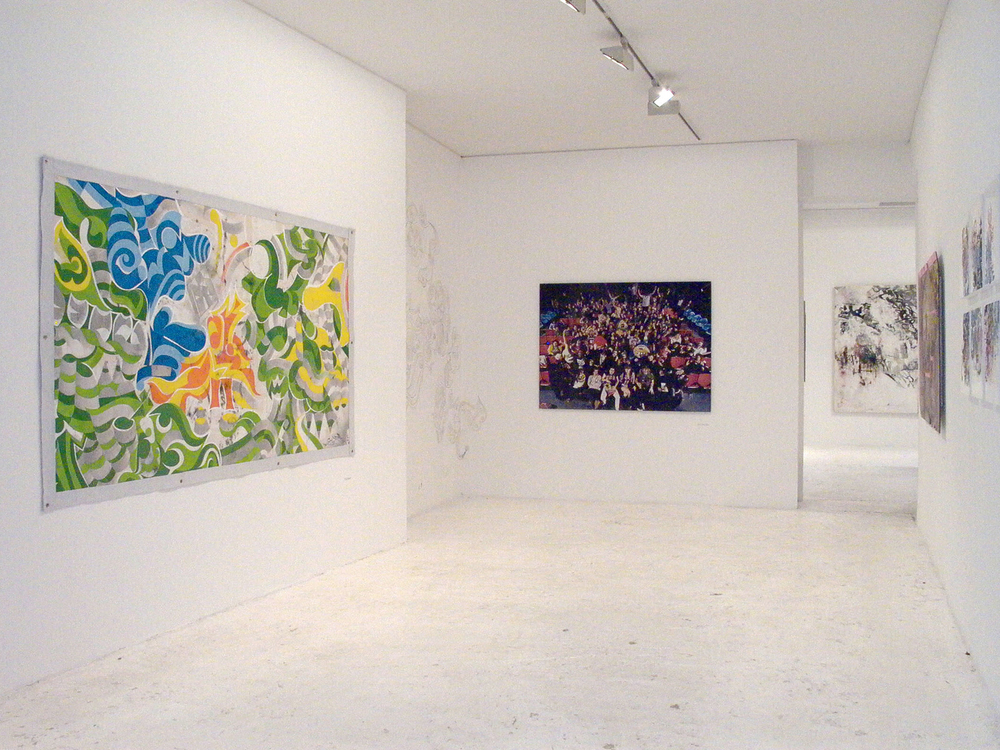 Installation view,  What About New York?   Galerie Du Jour  Paris, France, 2003