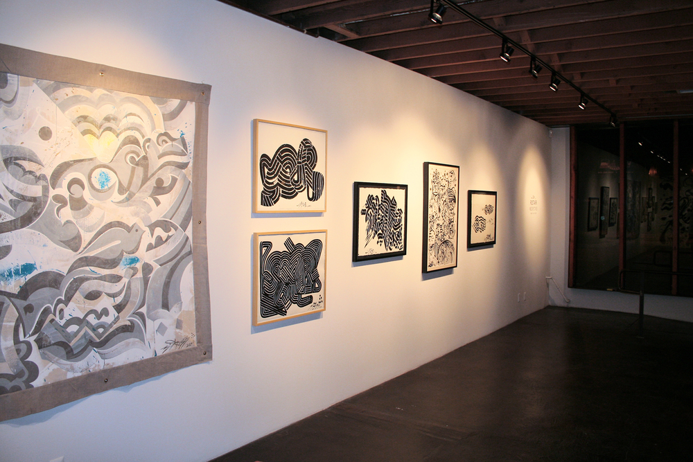 Installation view,   Neospectives   Kinsey/Desforges  Culver City, 2006