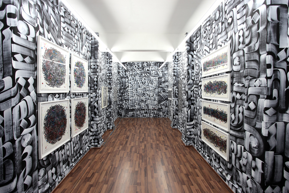 Installation view,  Turbo Arena ,  Anonymous Gallery , Mexico City, Mexico, 2013
