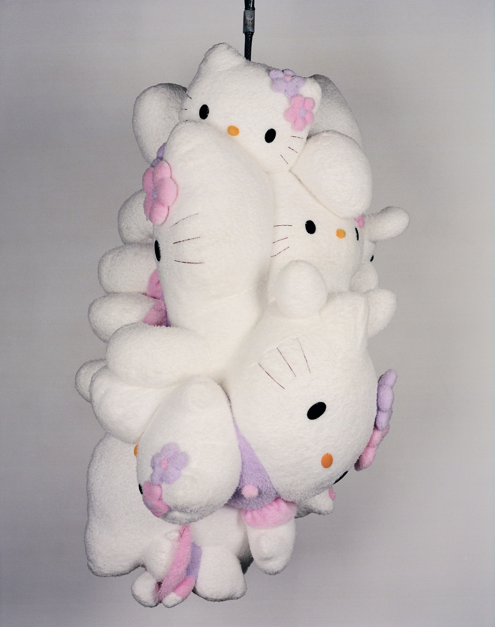 alternate view Polymorphic Kittyclysm, 2004 mixed media and bicycle chain dimensions vary Commissioned by Sanrio for Kitty EX