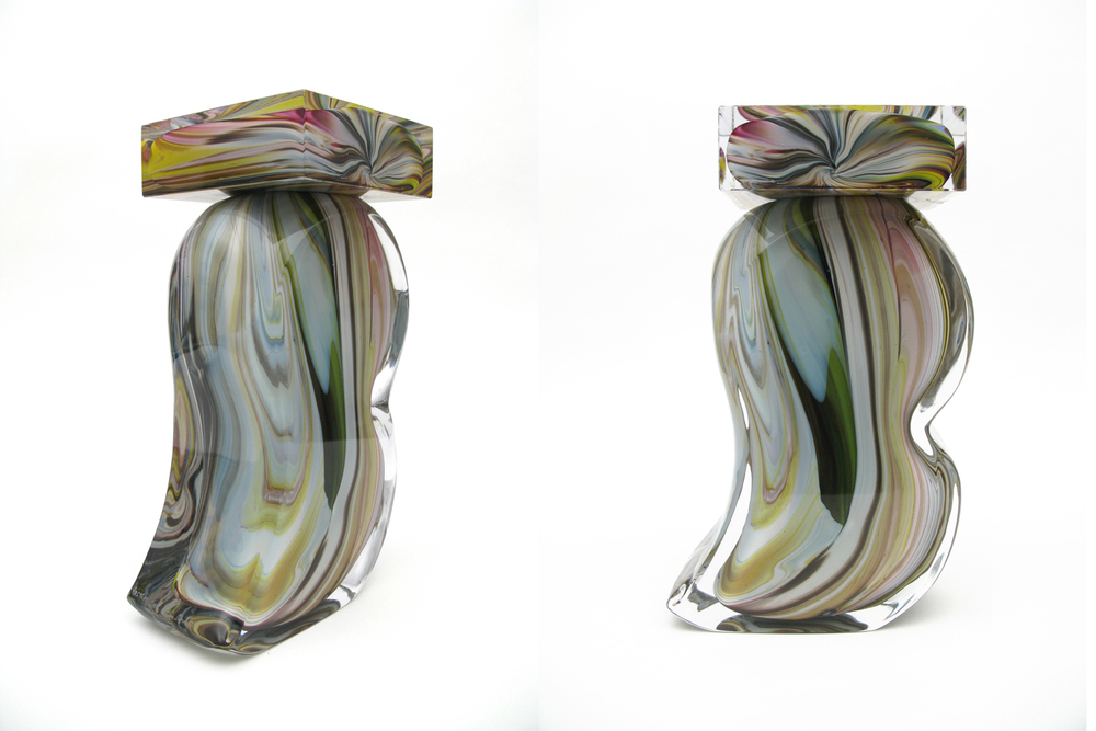 The Brush I (Murano Series), 2009 hand blown glass  edition of 5 unique works dimension vary