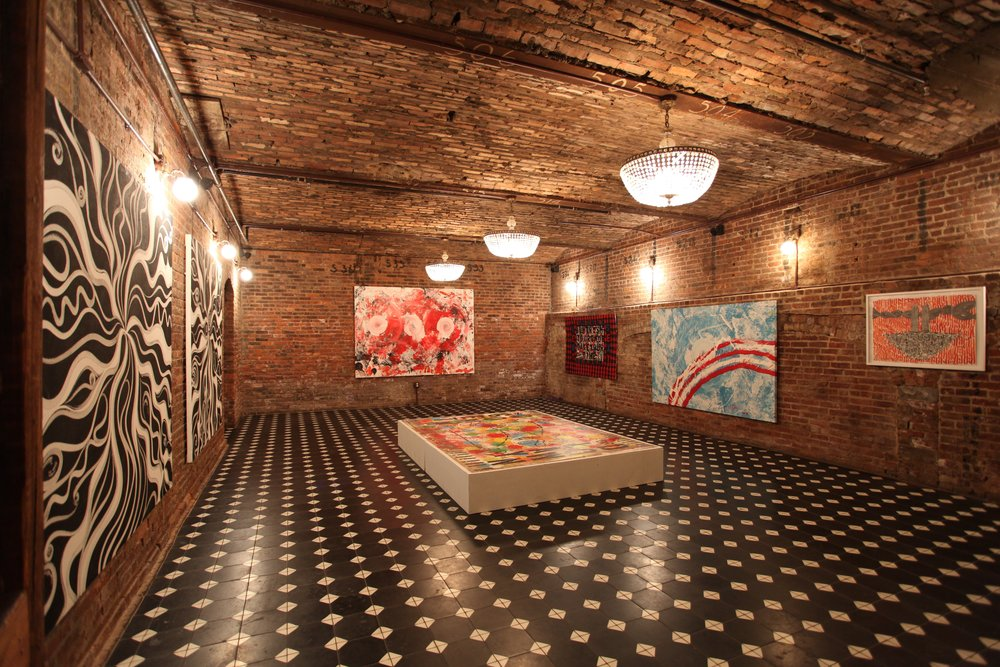 Installation View, 'Kill The Ego: Sound & Vision',  Brooklyn, New York, 2014