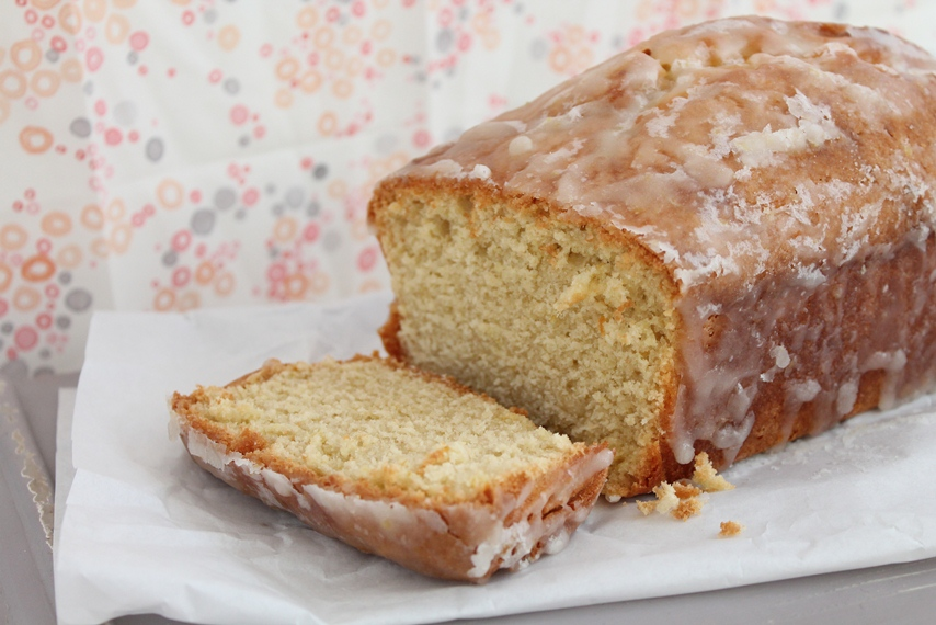 I baked this! It's a gluten-free lemon loaf.