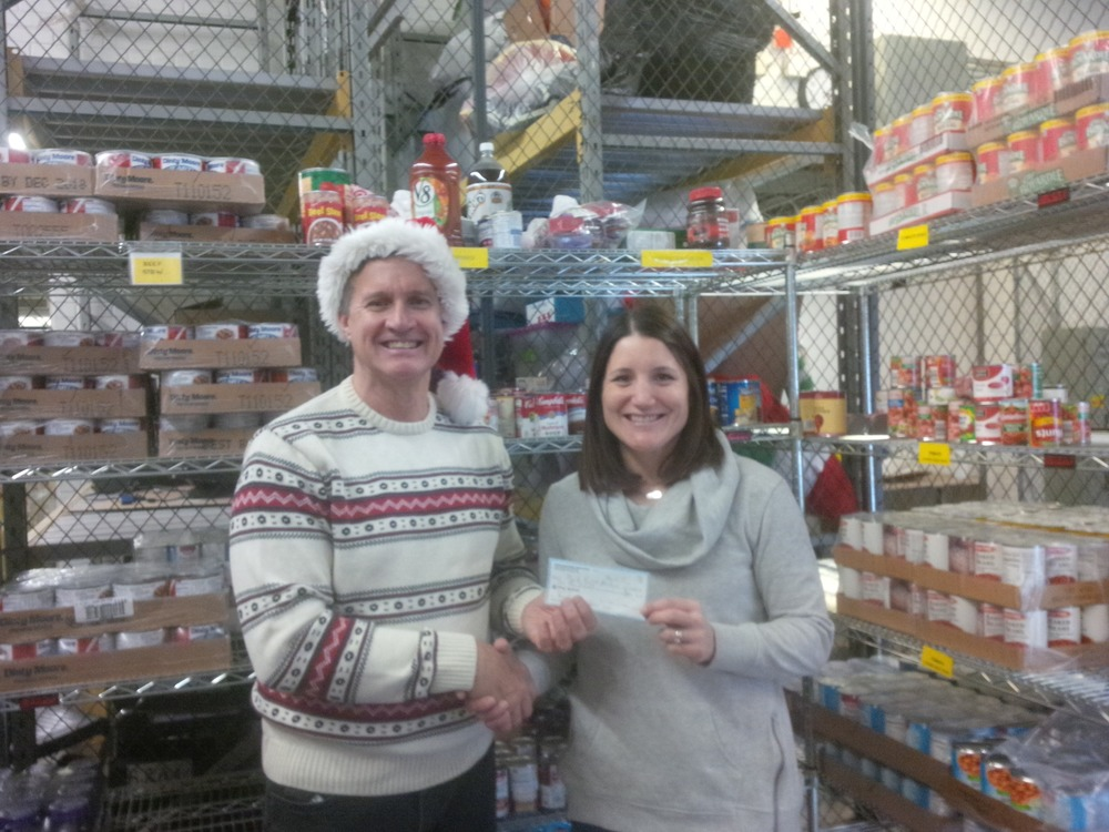 Bill Brink and Abby Rego of the Rocky River Assistance Program