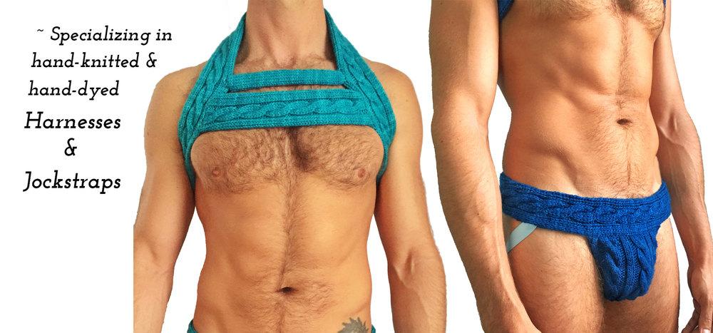 The Ladder Harness                                                                                                   Cableknit Jock