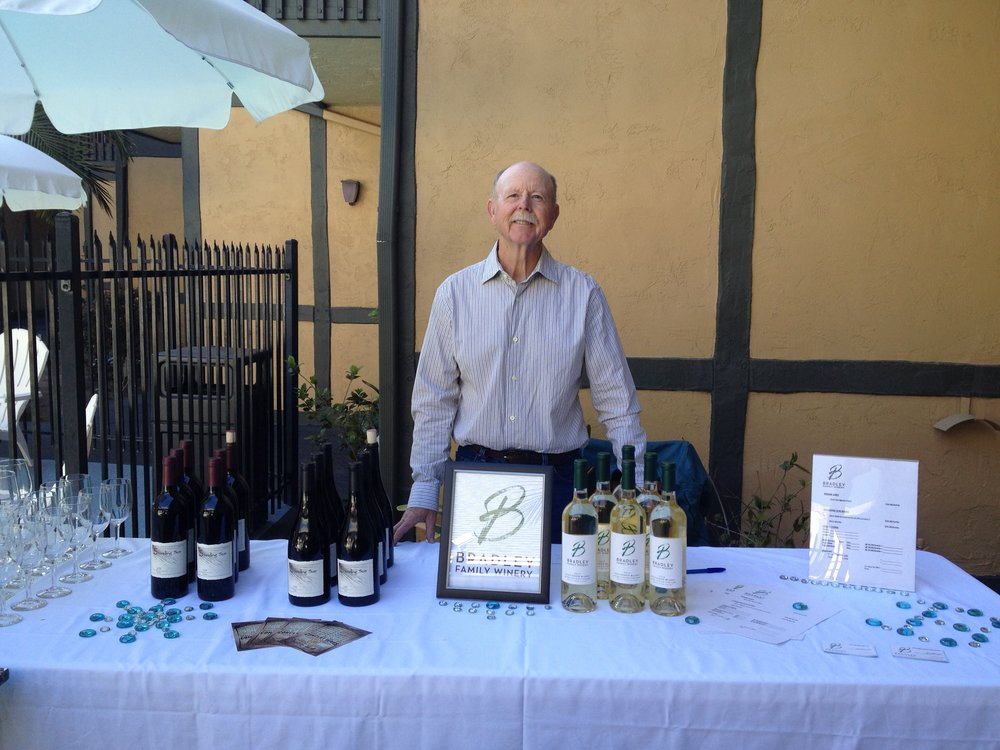 David Bradley, our founder, pouring at one of the local events.
