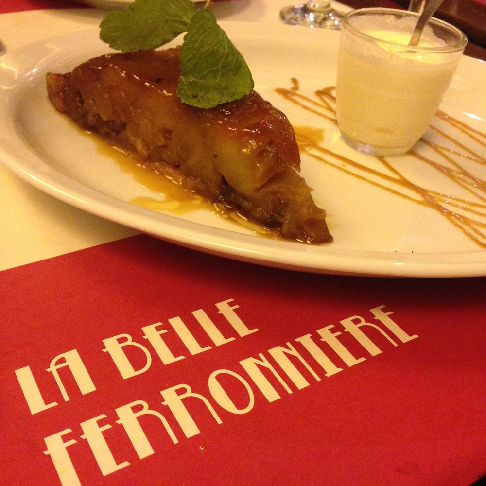Tarte Tatin - apple pie on Thanksgiving, Paris-style