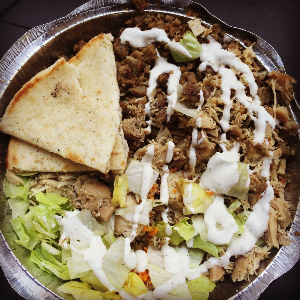 Beef and Chicken Gyro