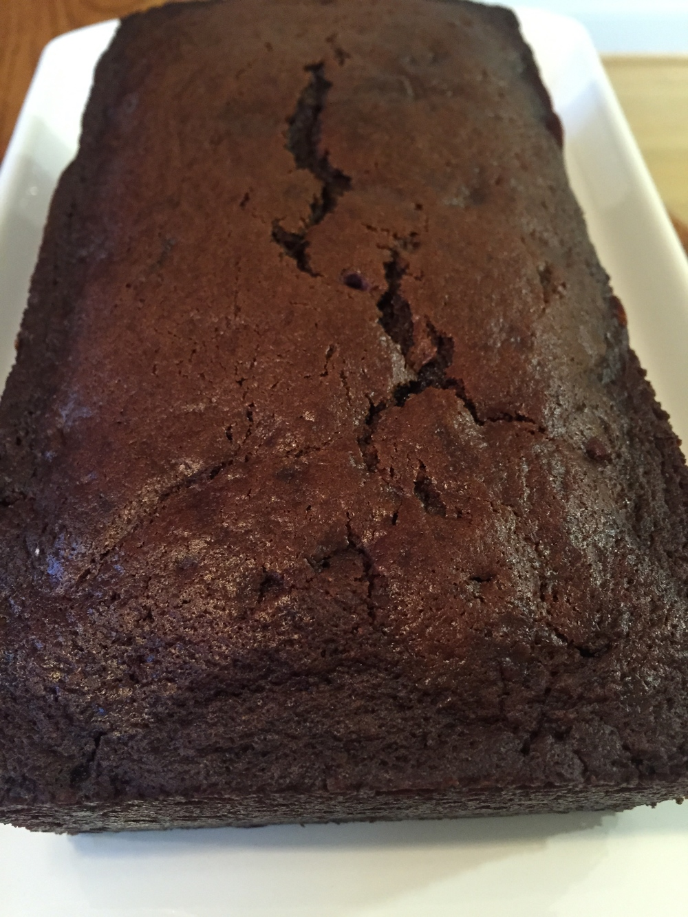 Chocolate Gingerbread Loaf