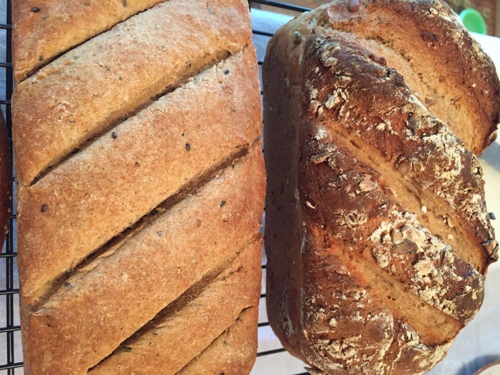 Baking Club Adventure: Whole Grain Bread — O-YUM-G