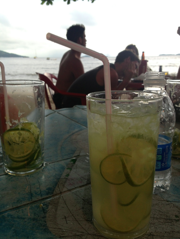 One of the best (and strongest) caipirinhas we had in Brazil - made by a little old grandma!