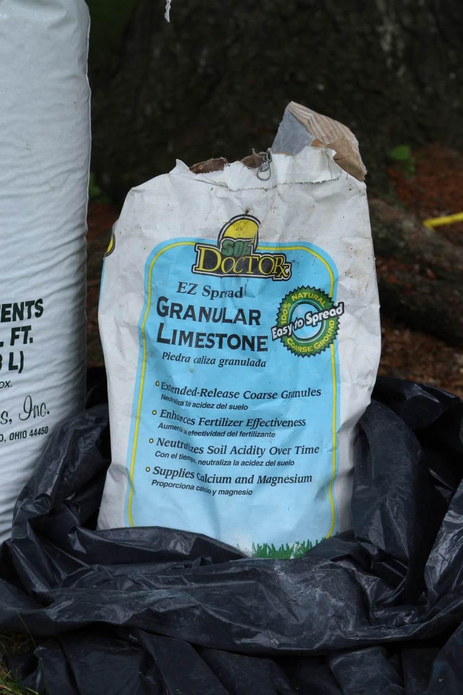 Granular limestone for extended release purposes