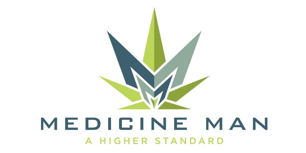 Medicine Man • Logo design for a medicinal marijuana supplier.