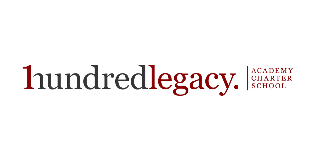 One Hundred Legacy • Logo re-design for One Hundred Legacy academy charter school.