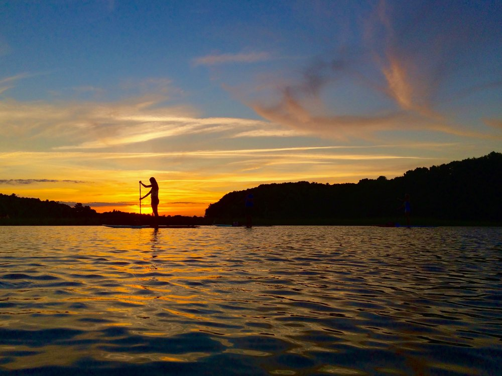 sunset paddleboard tour portsmouth NH