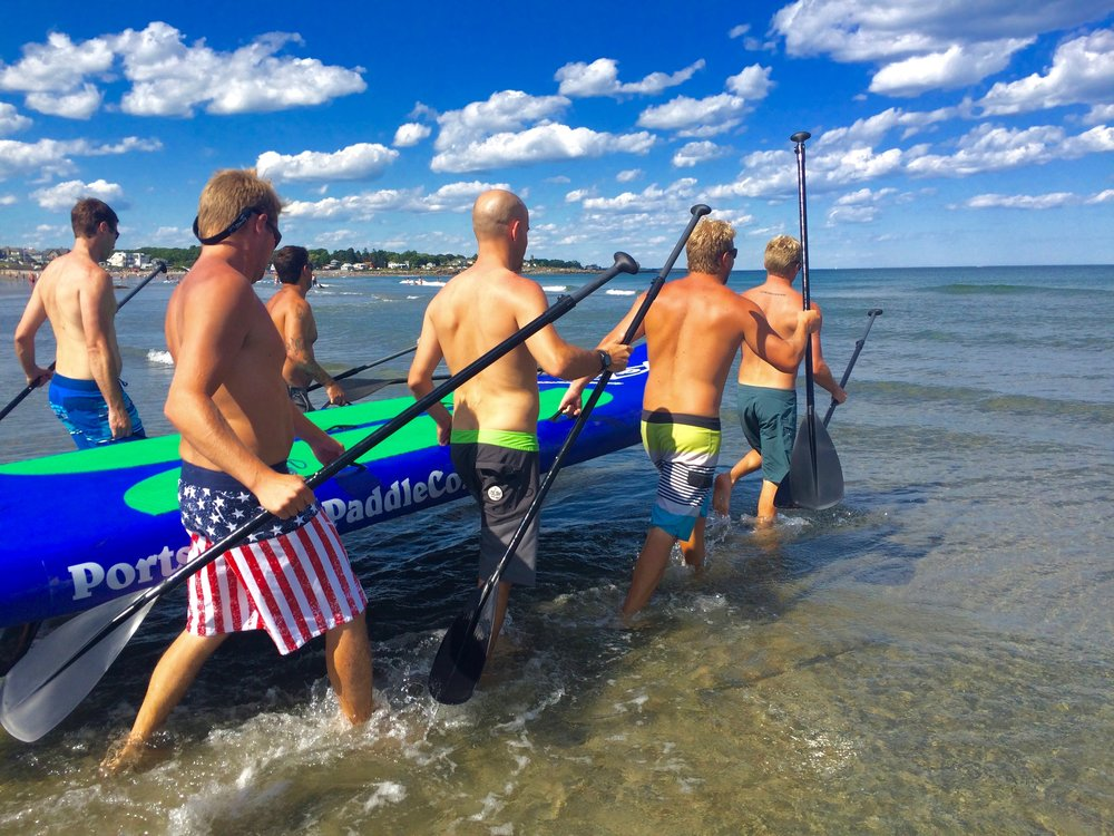 8 Person Sup Squatch: Paddle Board Rentals Portsmouth NH