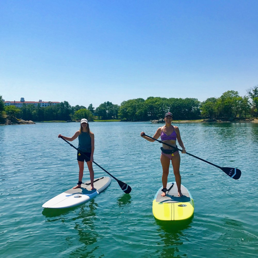 Paddle Board Instructor Provided Paddle Board Lesson