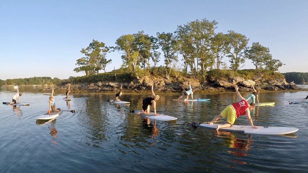 Paddle Board Pilates