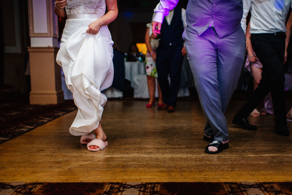 20 Down Hall Country House Hotel Couple SlippersWedding Photography.jpg