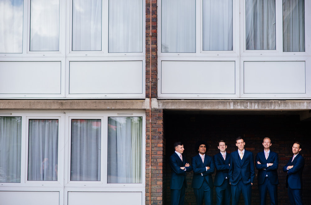 16 Lillibrooke Manor Berkshire Groomsmen Architecture Groom Wedding Photography.jpg