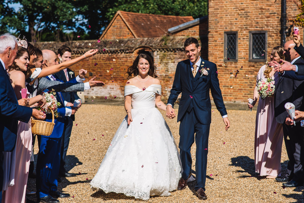 24 Lillibrooke Manor Berkshire Confetti ThrowWedding Photography.jpg