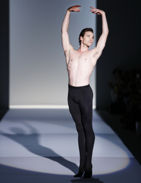 Zang Toi Spring 2014 Ballet Babe Cory Stearns