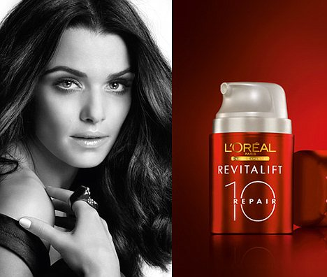 ASA-banned-magazine-advertisement-for-L'Oreal's-Revitalift-Repair-10-in-which-Rachel-Weisz-appeared-with-perfectly-smooth-skin