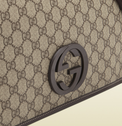 Gucci's name has become synonymous with its iconic fabric and logo. www.gucci.com