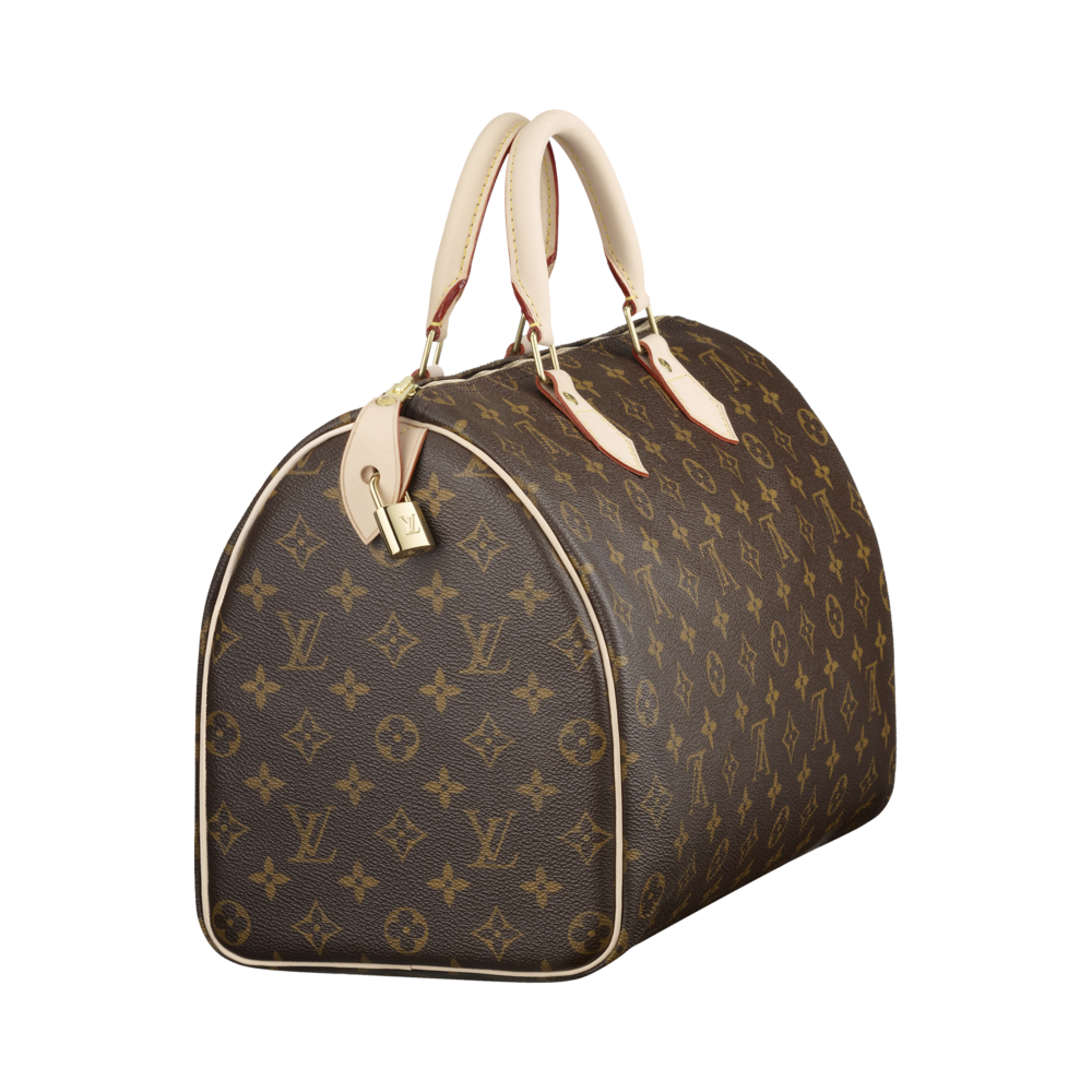 The Speedy bag in Monogram Canvas is a classic favorite of first-time LV buyers. www.louisvuitton.com