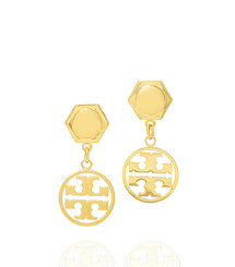 """Tory Burch is recognized most for its cross-forming """"T's"""". www.toryburch.com"""