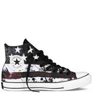 Converse Chuck Taylor All Star's in Flag Print