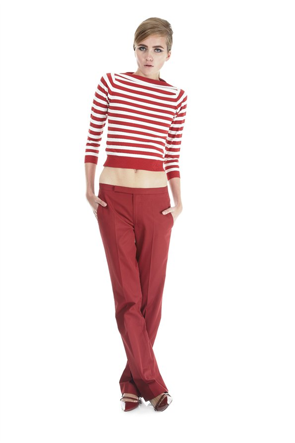 Marc Jacobs Stripe Boatneck Sweater and Pants