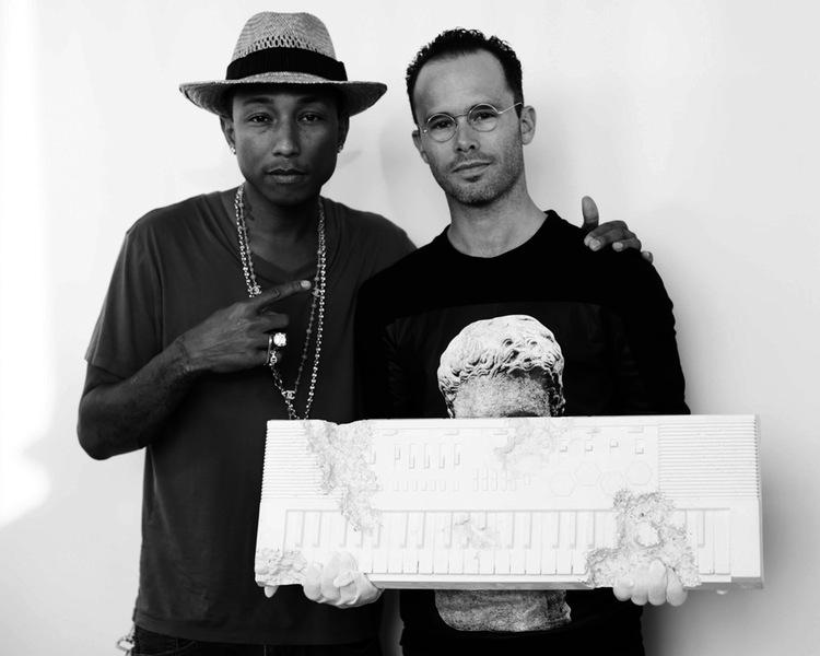 Pharrell Williams and David Arsham