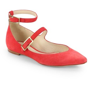 Chloe Suede Mary Jane Double-Strapped flats, $630.00