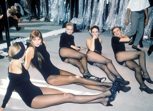 Donna Karan's Seven Easy Pieces, 1985 (photo: WWD)