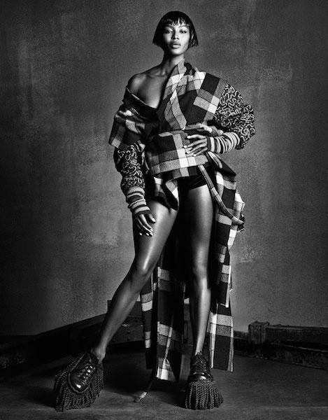 Naomi Campbell wearing Vivienne Westwood