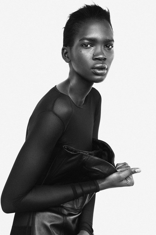 Amito Stacie Lagum First Face for: Balenciaga