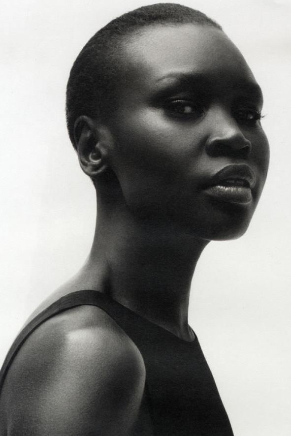 Alek Wek First Face for: Zac Posen
