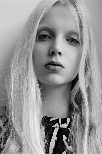 Cheyenne Keuben First Face for: Simone Rocha