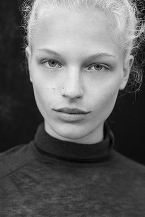 Frederikke Sophie First Face for: Celine