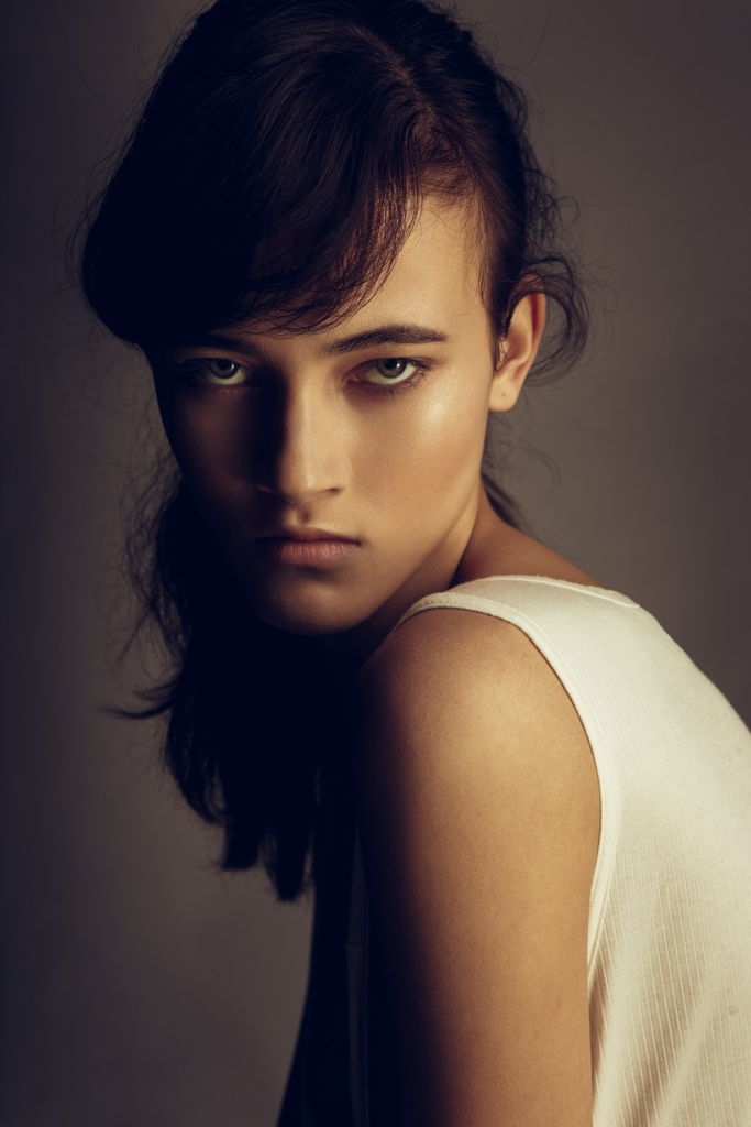 Greta Varlese First Face for: Miu Miu