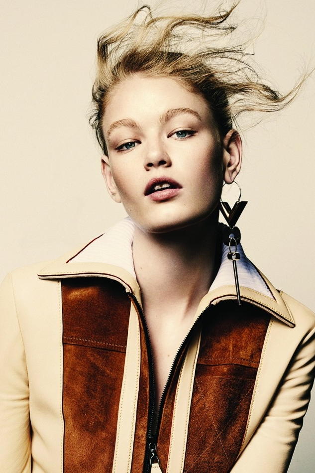 Hollie-May Saker First Face for: Jeremy Scott