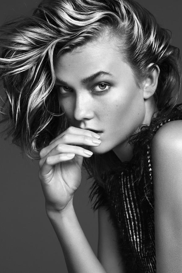 Karlie Kloss First Face for: Carolina Herrera, Elie Saab