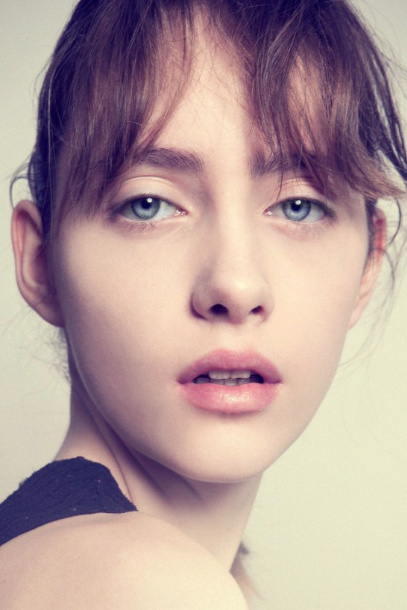 Lia Pavlova First Face for: Dires Van Noten, Gucci