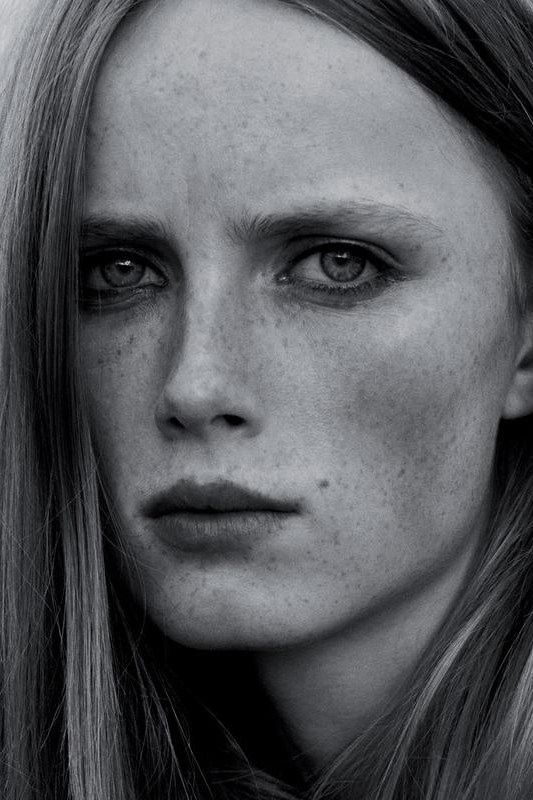 Rianne Van Rompaey First Face for: Jason Wu